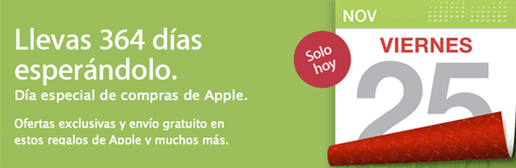 Black Friday: Descuentos en Apple Store de hasta el 65%